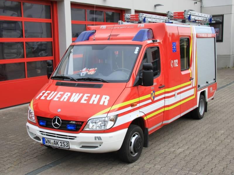 Mercedes Benz Sprinter >> Freiwillige Feuerwehr Korb: VLF